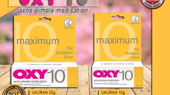 Jual Cream Pembersih Jerawat Oxy 10 di Kebayoran Baru