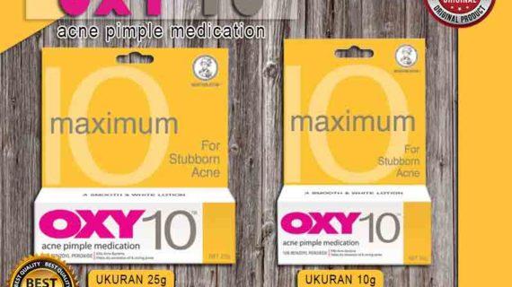 Jual Krim Pembersih Jerawat Oxy 10 di Mangupura