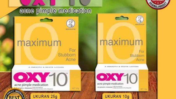 Jual Krim Pembersih Jerawat Oxy 10 di Soreang