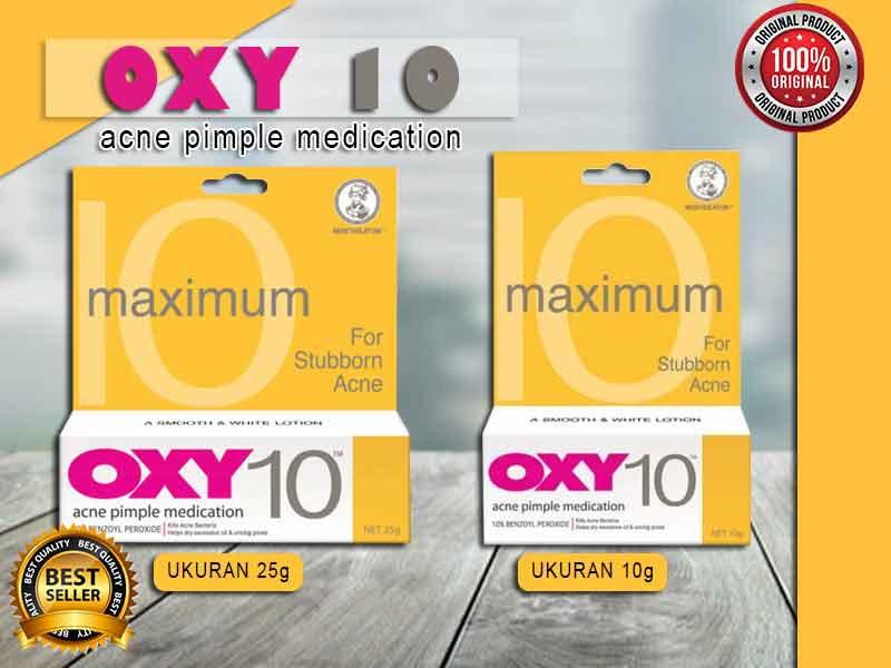 Review Oxy 10 Penghilang Bekas Jerawat