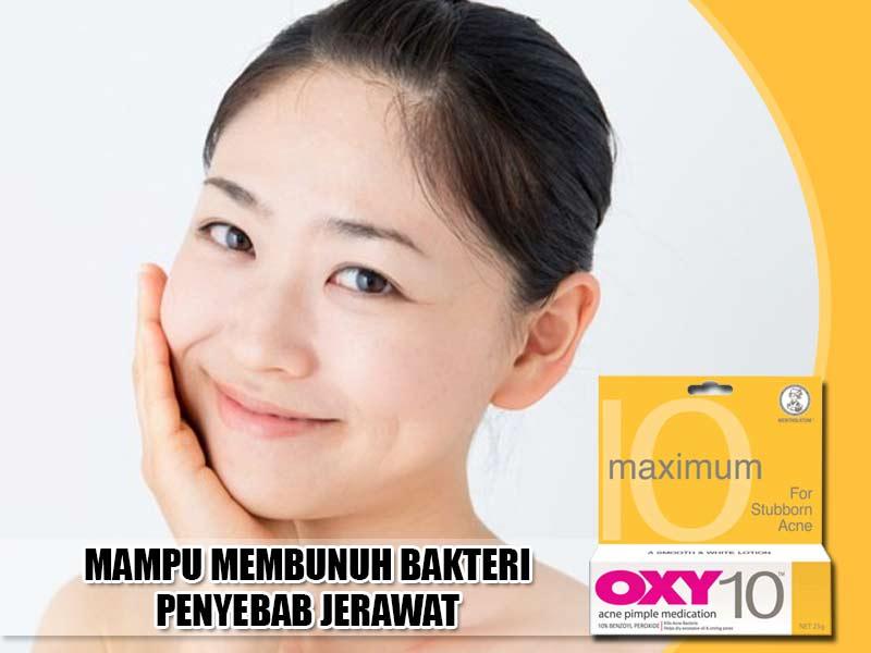 Jual Cream Penghilang Jerawat Oxy 10 di Musi Banyuasin