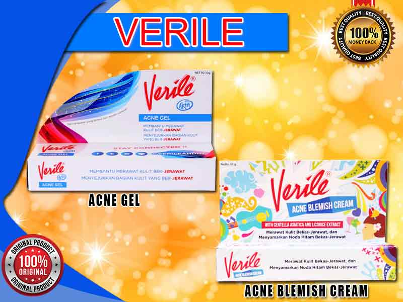 Review Kegunaan Salep Verile Acne Gel